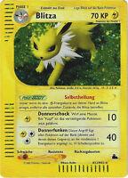 CCG 56 Pokemon Skyridge Holo Blitza / Jolteon H12/H32 Deut. Karte BGS / PSA 9 ?