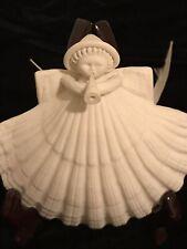 """Margaret Furlong 1984 Porcelain Angel 3"""" Retired Christmas Ornament"""