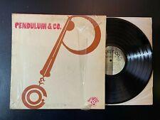 Pendulum & Co. Vinyl LP - 1971 - Perception Records PLP 23 - VG/VG