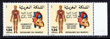 Morocco MNH Pair, Heart, Blood Circulation, Medicine, Human Anatomy