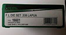 RCBS FL 2 Die Set for 338 Lapua, #16601, NIB,Rifle Reloading Dies