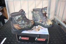 29-60 Rocky Bearclaw Kids/Boys/Girls Hunting Boots Shoes 11W Mossy Oak Waterproo