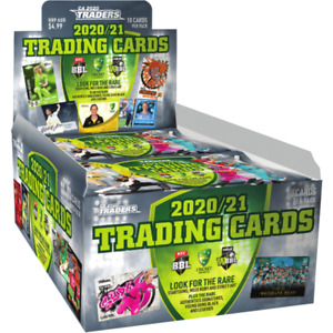 Cricket Australia Traders 2020/2021 Trading Cards Booster Box