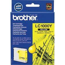 Genuine Original Brother Ink Cartridge LC1000Y Yellow 06 2017