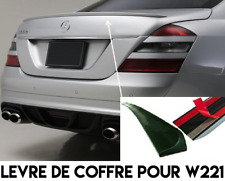 REAR TRUNK LIP SPOILER BOOT TRIM for MERCEDES BENZ W221 S-CLASS 04-09 AMG STYLE