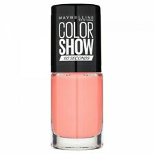 329 Canal Street Coral - Vernis à Ongles Colorshow 60 Seconds de Gemey-Maybellin
