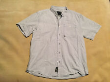 Mens Bench Casual Shirt Size XXL. Short Sleeve Blue Check Great Condition