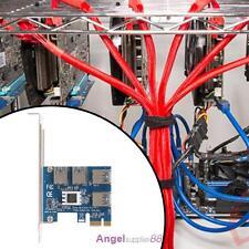 4 Slots PCI-E 1 to 4 PCI Express 16X Slot External Riser Card Adapter Board A