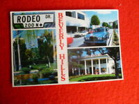 '90S  RODEO DR BEVERLY HILLS POSTCARD UNUSED PRINTED IN USA