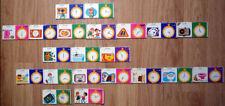 ancien Jeu 21 cartes DOMINO - Apprendre l'heure en s'amusant - Année 70