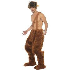 Greek Roman Pan Furry Trousers Wig Mr Tumnus Mens Adults Fancy Dress Costume