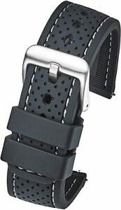 Alpine Premium Quality Waterproof Silicone Watch Band Strap With Quick Release