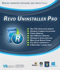 Revo Uninstaller Pro Version 3 Portable For 1 PC Users -  Lifetime License