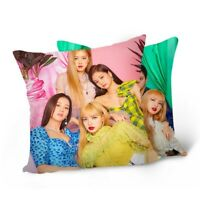 Pillow Case Double Sided Pillow Cover Fans JENNIE 40cm×40cm CM Minw UK Hot lskn