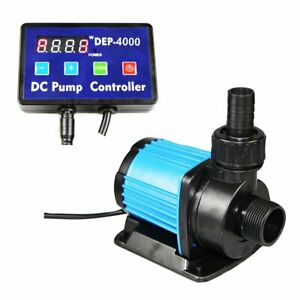 Uniclife DEP-4000 Controllable DC Water Pump 1052 GPH with Controller for Mar...
