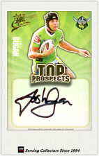 2009 NRL Classic Top Prospect Signature Card TP3 Josh Dugan (Raiders)