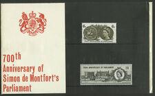 GB 1965 Simon de Montfort's Parliament Presentation Pack