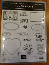 Stampin Up - Punch Party - new!