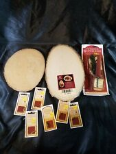 Walnut Hollow Woodburner, Tips, And Wooden Blanks Vintage Wood Working Tools