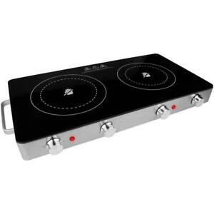 Brentwood Appliances Electric Grill/Hot Plates Infrared Glass Surface 2-Burner