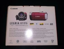 NEW CANON LEGRIA HF R16 HD CAMCORDER ==> RED