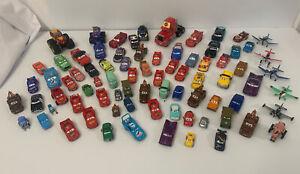 Lot of Disney Cars Disney Planes Race Car Lot Rare All Die Cast Toys