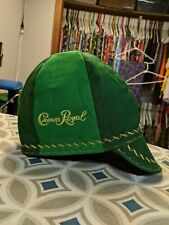 Wendys Welding Welding Hat Made From  Apple Crown Royal Bags! FITTED! !