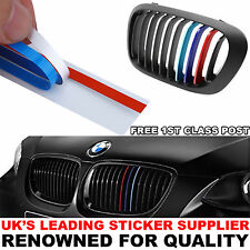 BMW Kidney Grill M Sport Colour Stripes Sticker X1 X5 X6 1 2 3 4 5 6 7 Series gs