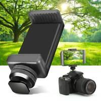 1/4 Phone Clip Holder Flash Shoe Screw Adapter Tripod Mount For DSLR Camera dp'