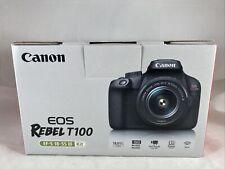 Canon EOS Rebel T100 Digital SLR Camera with 18-55mm Lens Kit
