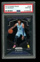 2019 Panini Prizm #249 Ja Morant Grizzlies Rookie Card RC PSA 10 Gem Mint