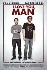 I LOVE YOU, MAN Movie POSTER 11x17 B Paul Rudd Jason Segel Rashida Jones