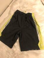 Nike Shorts Boys Youth Size Small Athletic Drawstring Gray Drifit