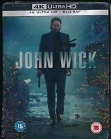 EBOND John Wick 4K ULTRA HD + BLU-RAY Steelbook  UK EDITION D395013