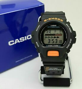 New Old Stock G Shock Fox Fire DW6600 Made In Japan NHK (Light Faulty) DW6900