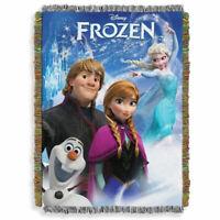 "Disney Frozen ""A Frozen Day"" Tapestry Throw - 48"" x 60"""