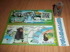 DC020 Affe Mit Bpz Aus China 2014/2015 Ferrero Kinder Joy Tierkinder
