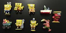 "9 SpongeBob SquarePants Mini Figures  Viacom  Cake Toppers 1-2"""