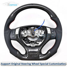 Carbon Fiber Leather Thick Sculpted Customized Steering Wheel for Lexus ES250