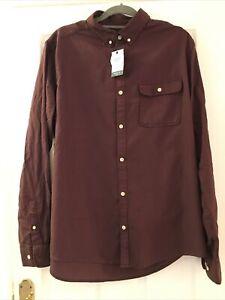 🖤Next Mens Purple Shirt Size Large NWT🖤
