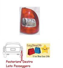 FARO FANALE FANALINO POSTERIORE DX PER FIAT STRADA PICK UP 03 GRUPPO OTTICO STOP