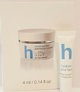 VILIV Dr Felix Bertram H hydrate gentle hyaluronic moisturiser 4ml tube
