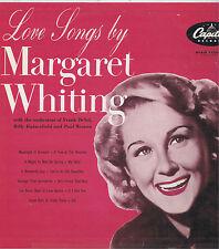 Love Songs by Margaret Whiting Capitol Vinyl 33 LP Pop Music Album VG+ Mono 1954