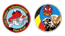 PATCH SWIRL F-16 23rd  DEVIL SQUADRON BELGIAN AIR FORCE