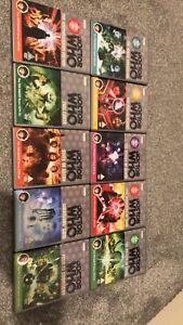 doctor who bundle dvd x10