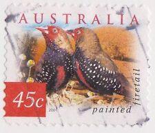 (DC351) 2001 AU 45c Desert birds (E)
