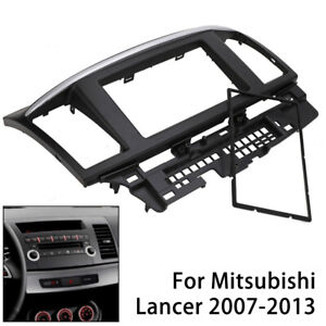 For Mitsubishi Lancer Car Stereo Radio Double 2 Din Fascia Dash Panel Facia Kit
