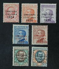 CKStamps: Italy Stamps Collection Scott#174A-176G Mint H OG