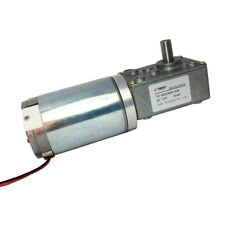 12Volt 3rpm Electric Worm Geared DC Motor High Torque Reviersible Right Angle