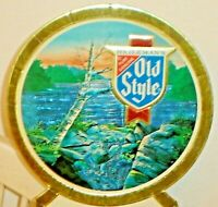 Vintage 1987 Old Style Beer Sign If You Were Born Before This Date 1965 Calendar